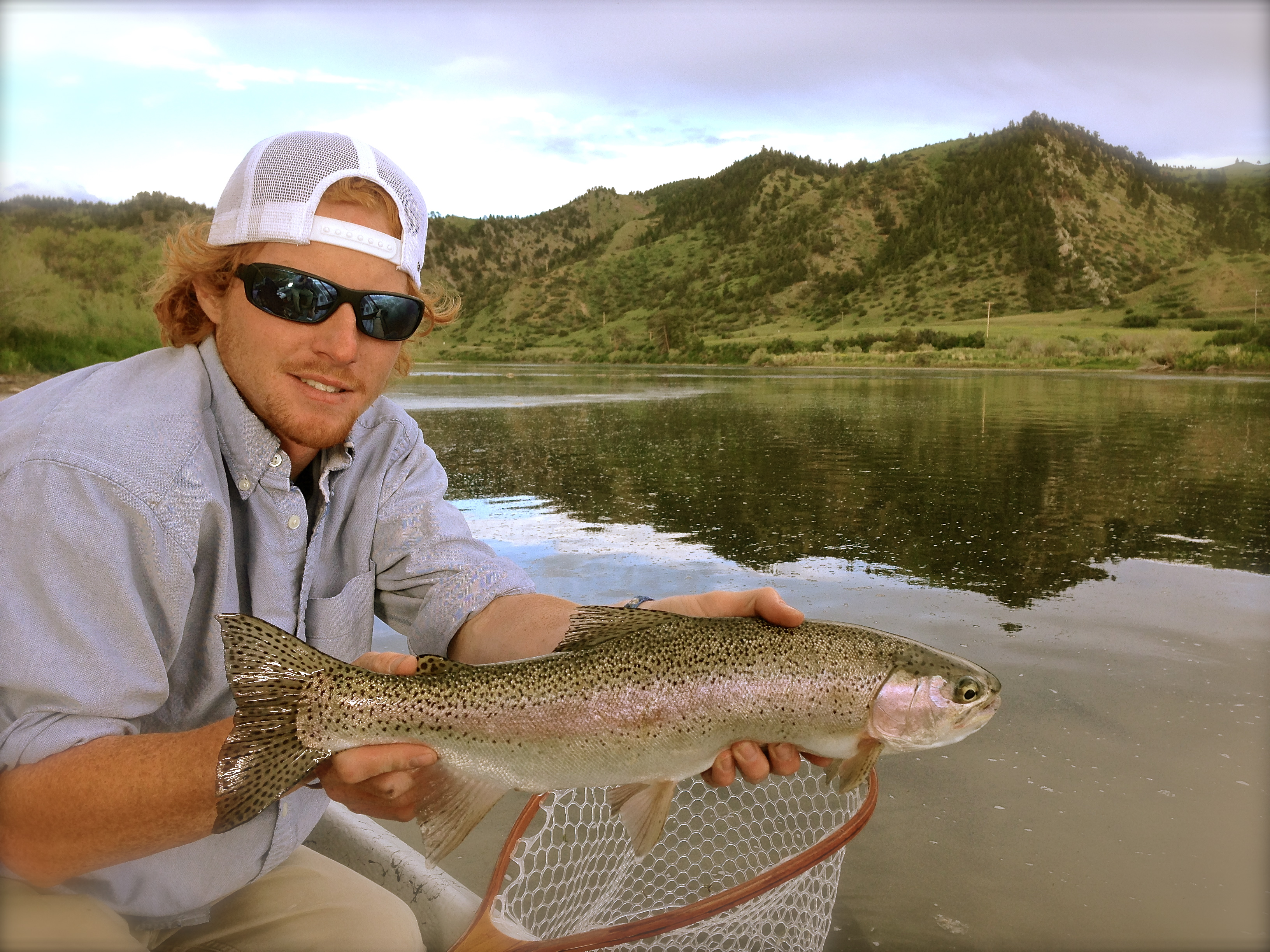Mo river fishing report 6 22 13 crosscurrents fly shop for Missouri river fishing