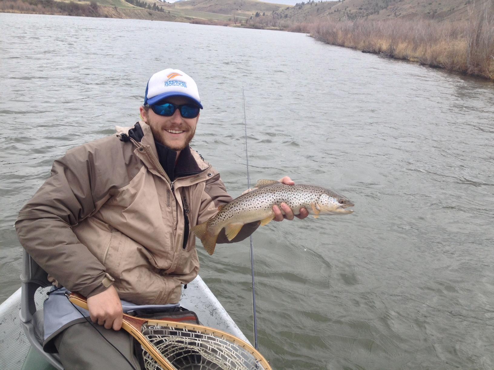 Missouri river fishing report 5 4 14 crosscurrents fly for Missouri river fishing
