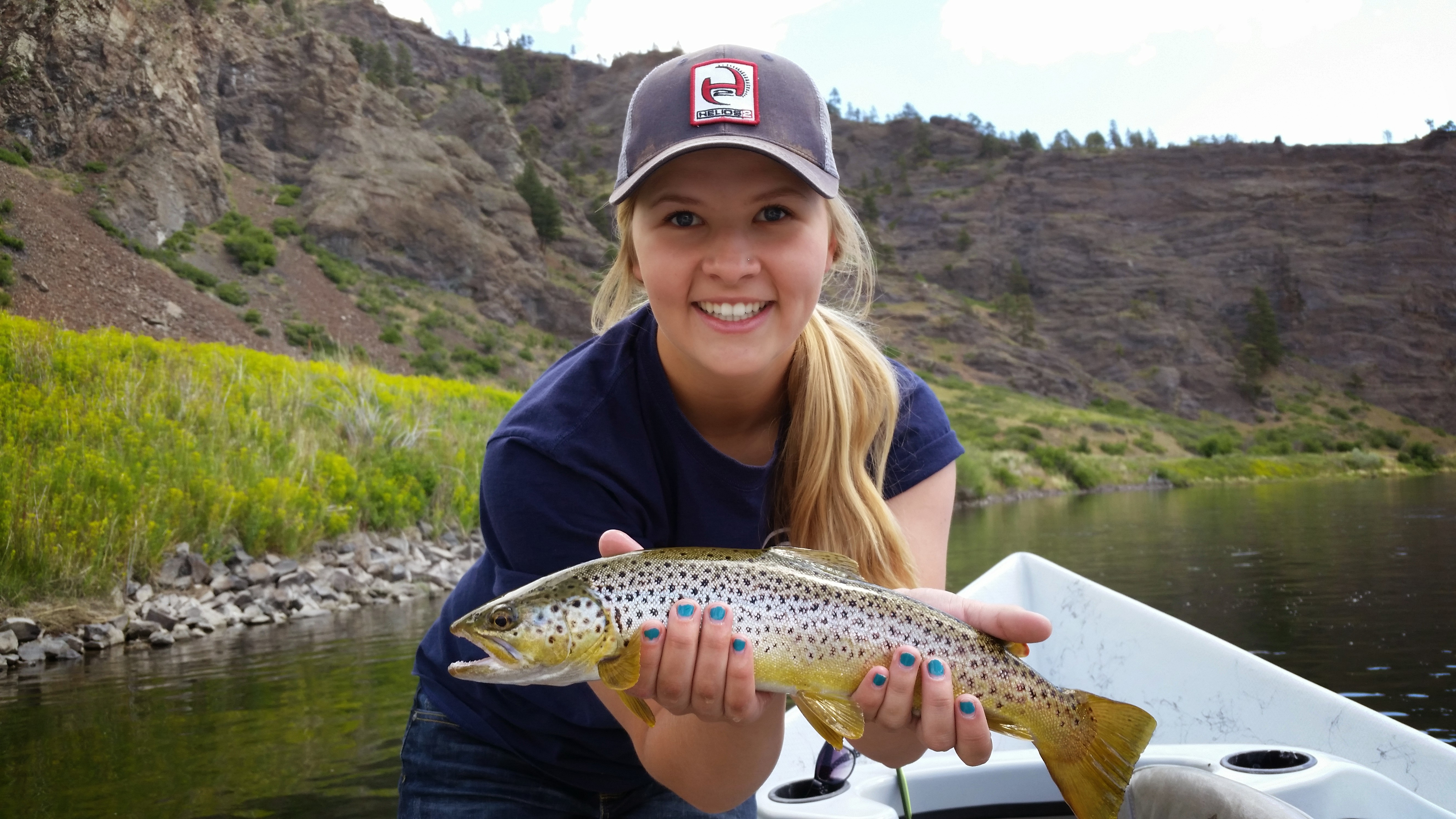 Blonde and browns crosscurrents fly shop missouri river for Rent fishing gear near me