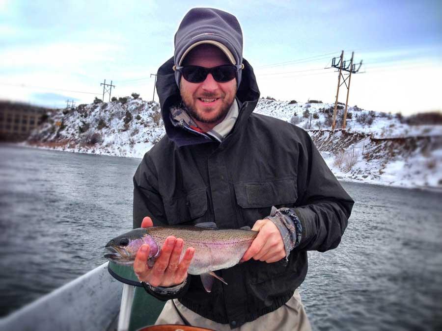 Missouri river fishing report 1 12 15 the current seam for Missouri fishing report