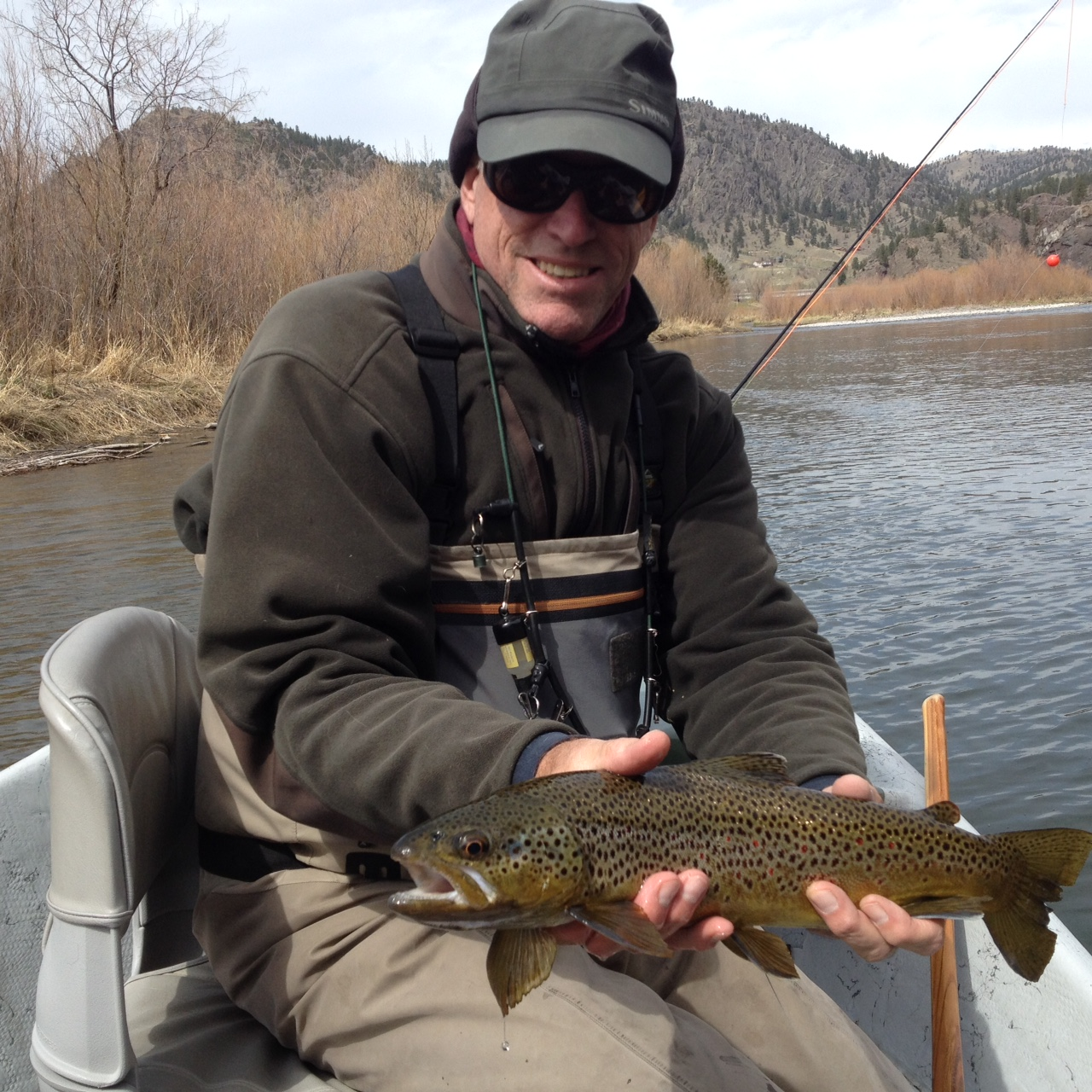 Missouri river fishing report the current seam for Current fishing report
